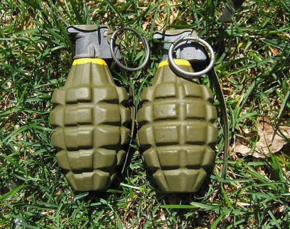 Pronađene dvije ručne bombe