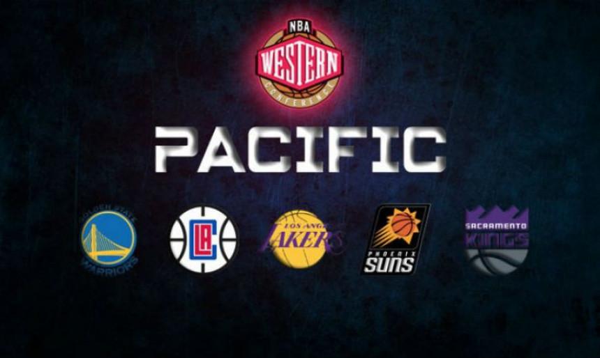 NBA pijaca, divizija Pacifik...