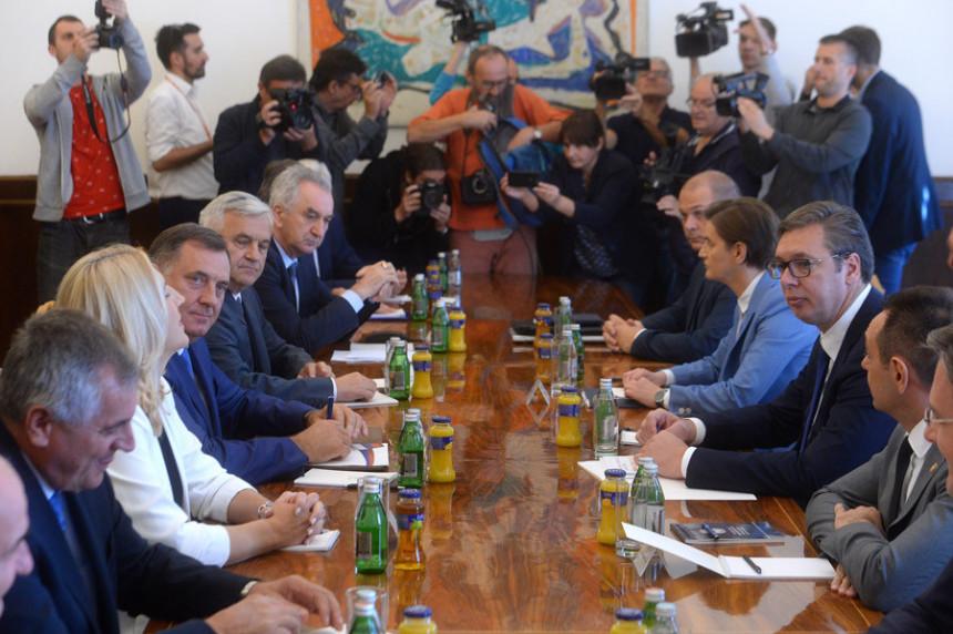 Sastanak u Beogradu, na dnevnom redu Deklaracija SDA