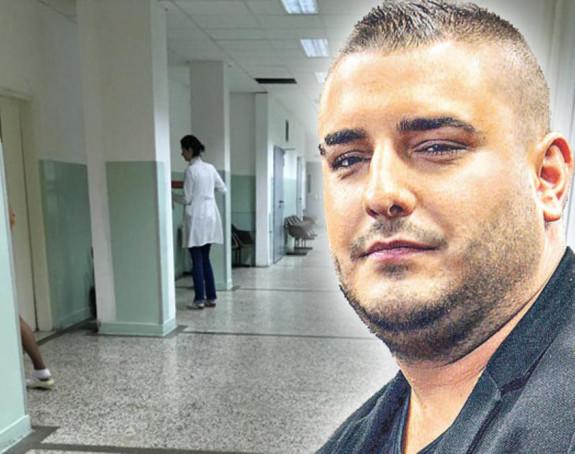 Prva fotografija Darka Lazića iz bolnice