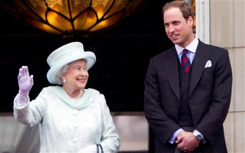 Princ preuzima dužnosti kraljice