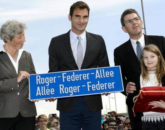 Tako se poštuje velikan! Federer dobio ulicu u Švajcarskoj!
