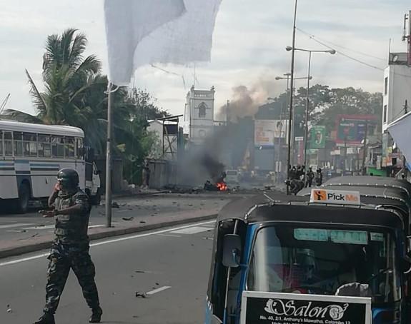 Nova eksplozija u Šri Lanci