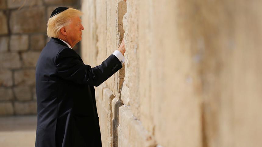 Trump prvi koji je obišao Zid plača
