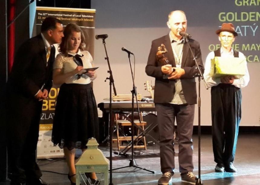 Zlatna nagrada za BN TV i Milana Pilipovića
