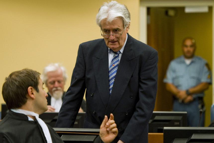 Hag: Karadžić podnio žalbu na presudu