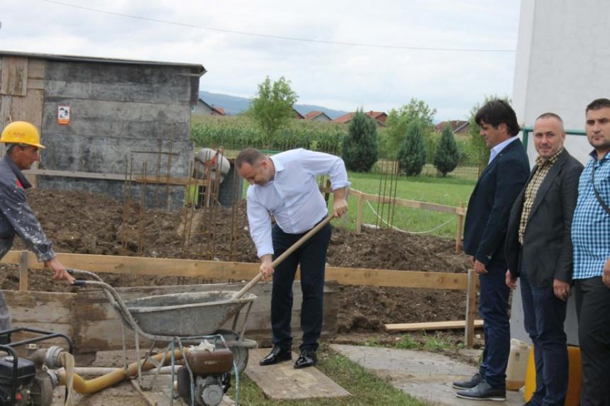 Градња амбуланте у Новом насељу Јања