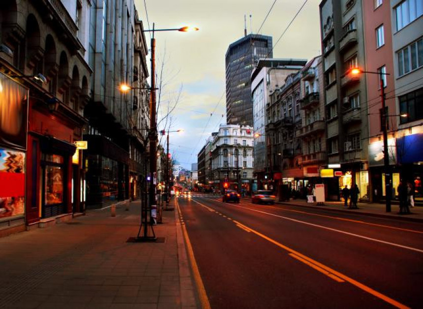 Obračun u Beogradu, izboden muškarac