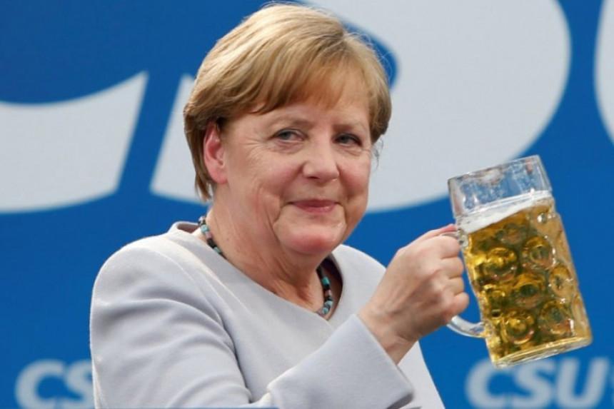 Merkelova sanja da je astronaut