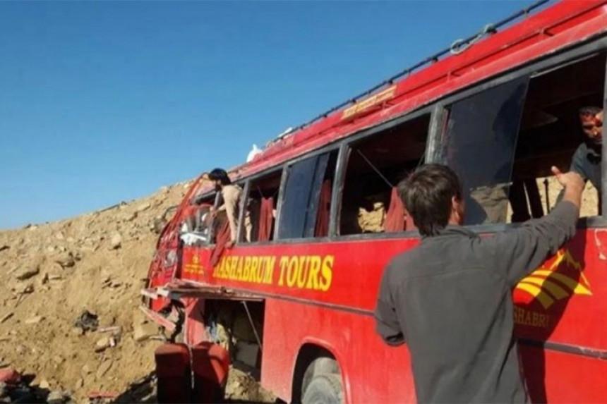 Autobus udario u brdo, poginule 22 osobe
