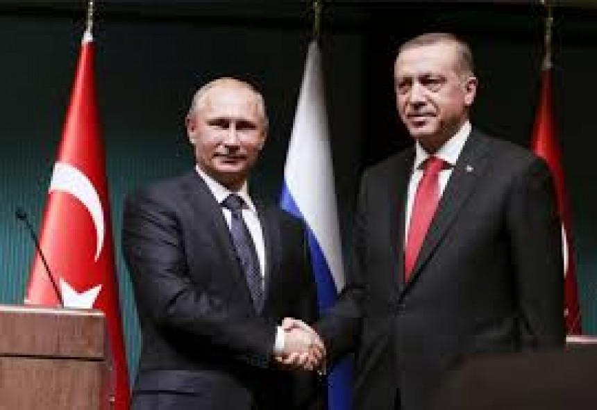Putin i Erdogan sastali se danas u Sočiju