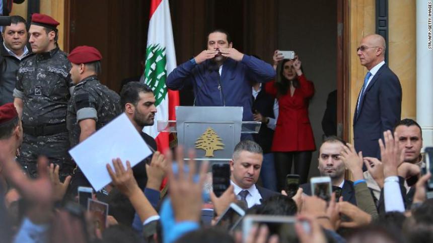 Novi obrt: Hariri povukao ostavku