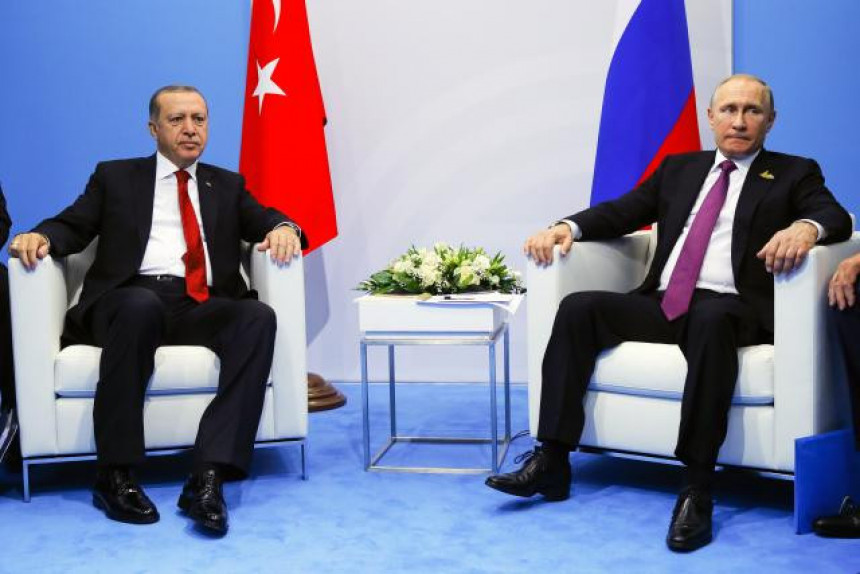 Putin i Erdogan za Palestinu