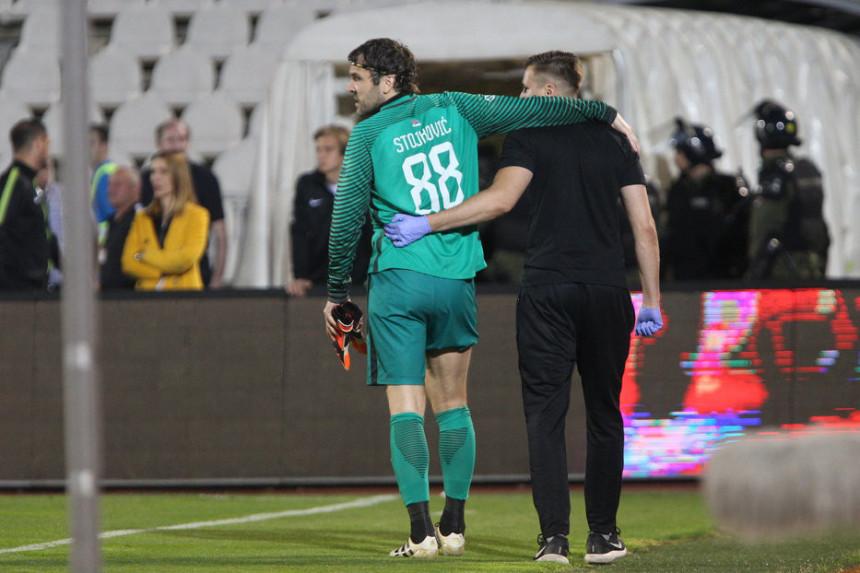 Video: Stojković nije teže povređen, ali...