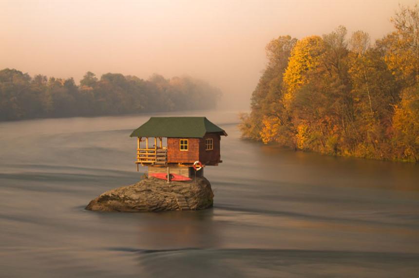 Kuća na Drini ponovo među najbizarnijim građevinama svijeta