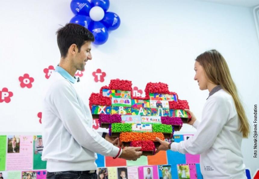 Ђоковићева рођенданска кампања за отварање новог вртића