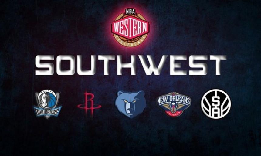 NBA pijaca, divizija Jugozapad...