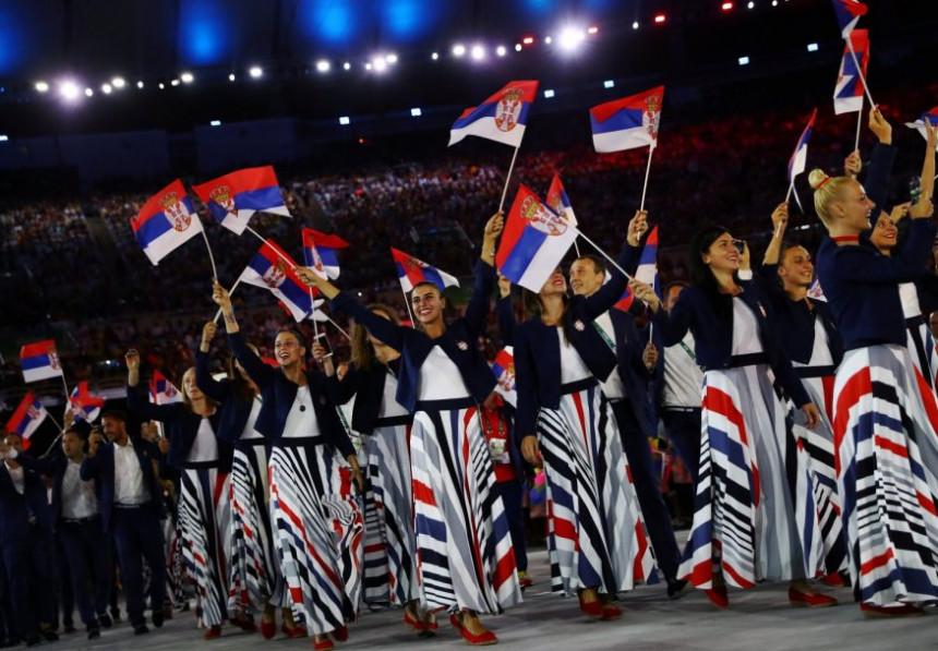 Večeras Srbija dočekuje olimpijce