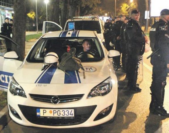 """Racije i """"policijski čas"""" u Podgorici"""
