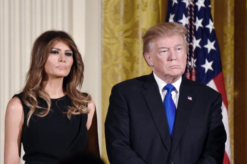 Tramp u Davosu ipak bez Melanije