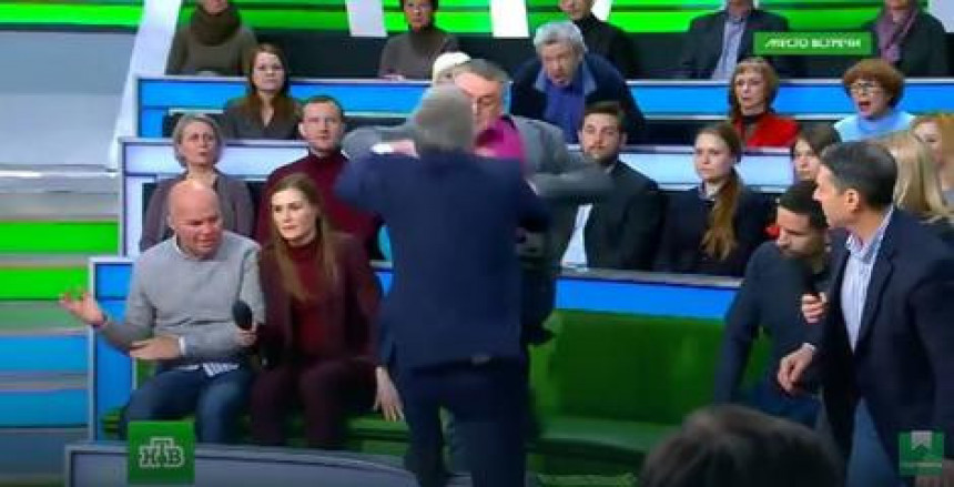 Fizički obračun u studiju NTV