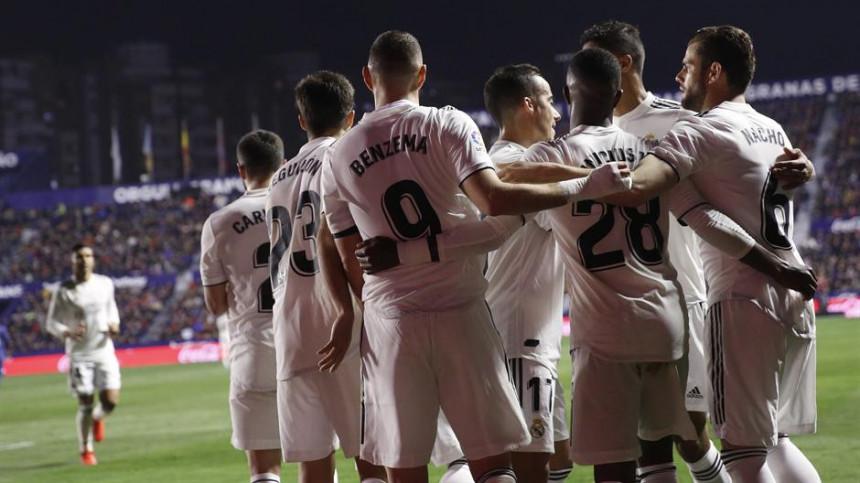 ŠPA: Real uz dva penala savladao odlični Levante!