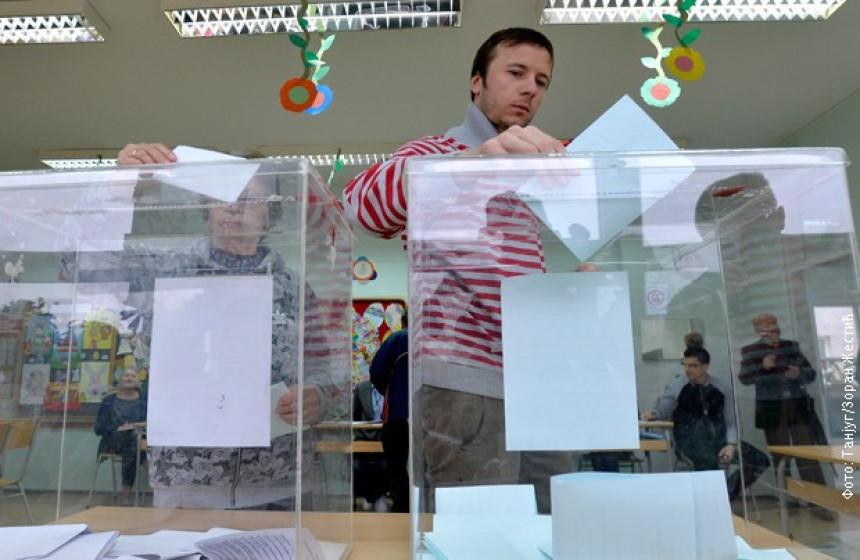 Srbija bira: Otvorena glasačka mjesta