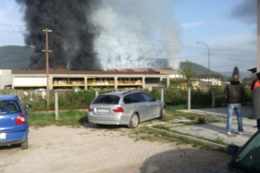 Veliki požar kod Sarajeva