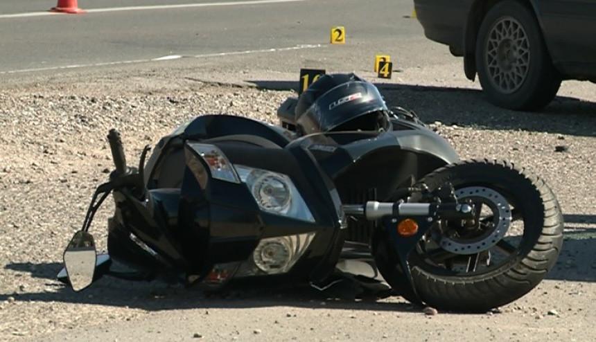 Teško poverijeđen motociklista u Bijeljini