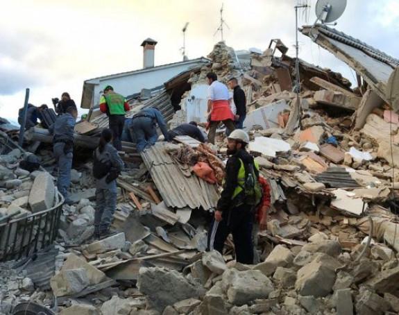 Razoran zemljotres u Italiji, 38 poginulih