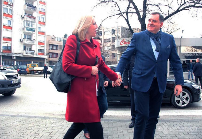 Postoje ozbiljni šumovi na vezama Cvijanović - Dodik