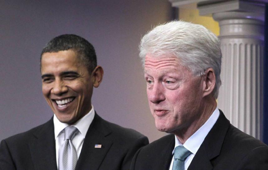 Podli napadi na Obamu i Klintona