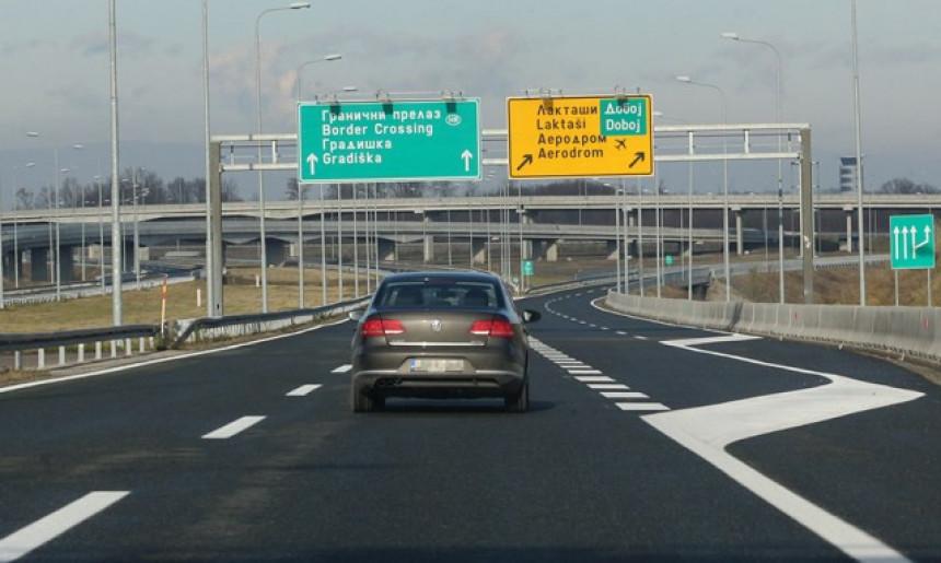 Pogledajte cijene na autoputevima Republike Srpske