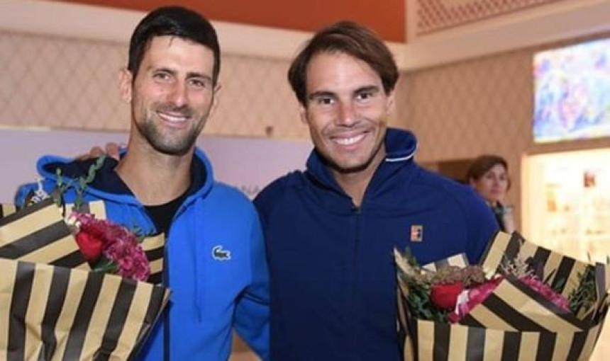 Đoković plesao sa publikom, Nadal pobijedio!
