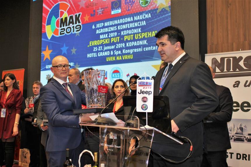 Radu Saviću prestižna nagrada