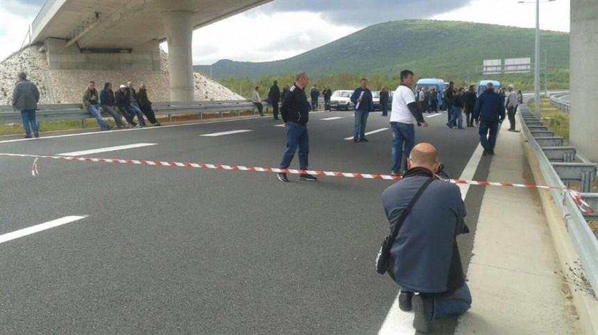 Blokiran granični prelaz Bijača