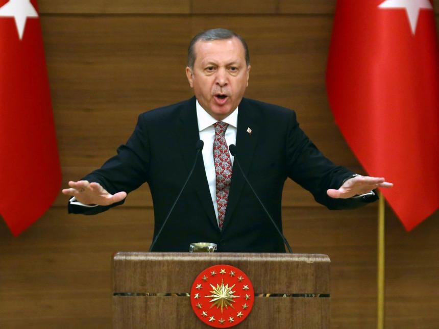 Erdogan zagrmio: Katar je u pravu