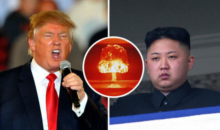 Sjeverna Koreja: Tramp objavio rat