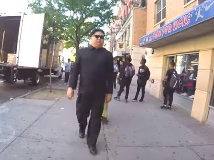 Prerušeni Kim na ulicama Njujorka