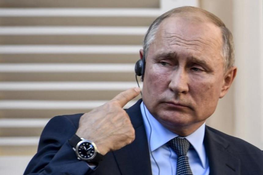 Putin sa stalnim članovima Savjeta bezbjednosti
