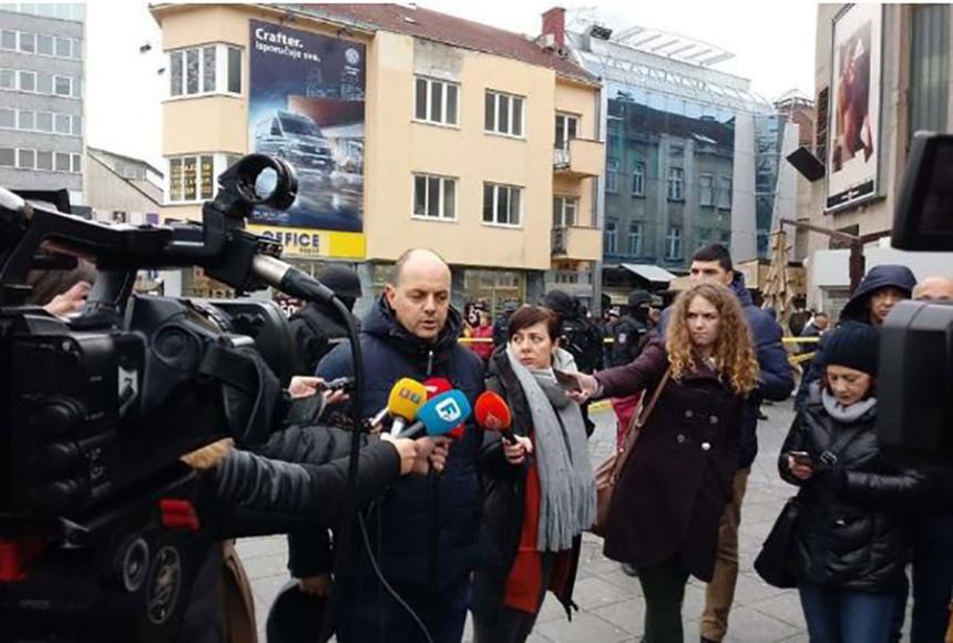 Novinari uputili javni protest
