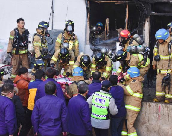 Požar u bolnici-41 osoba poginula