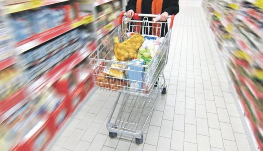 U januaru rast cijena za 1,5 %