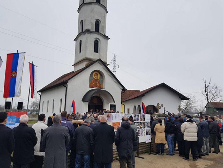 Sijekovac: Počast stradalim Srbima