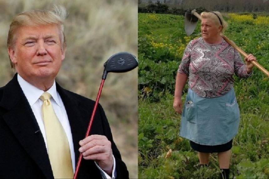 Ovo je dvojnica Donalda Trampa!