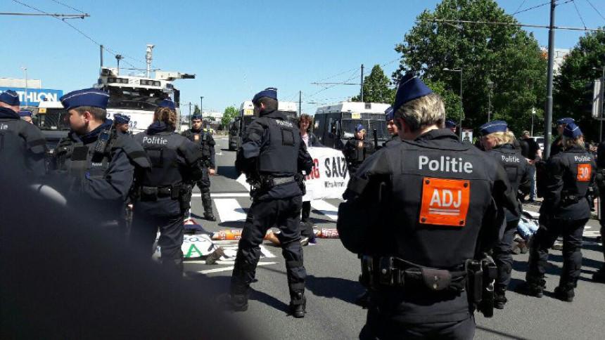 Privedeno desetak demonstranata