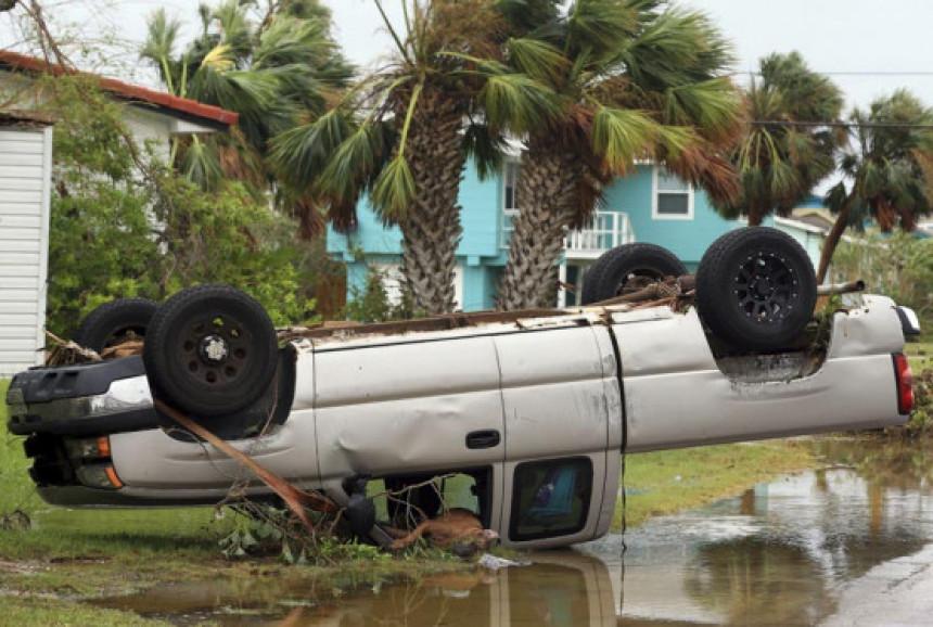 Prve žrtve uragana u Teksasu