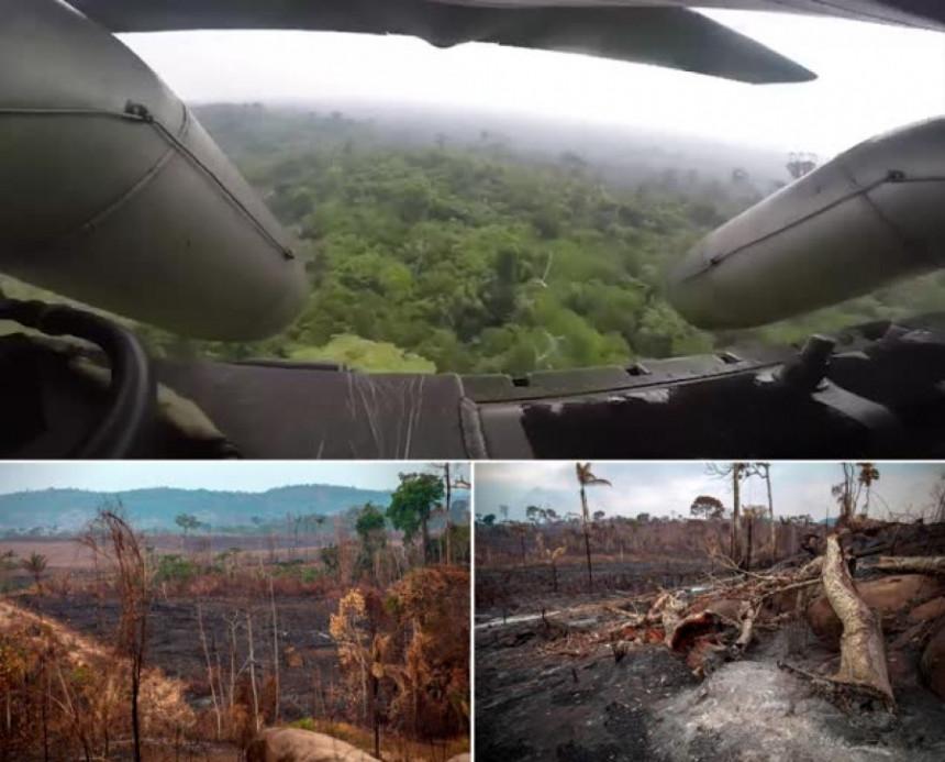 Požar u Amazoniji: Vojska krenula u gašenje požara