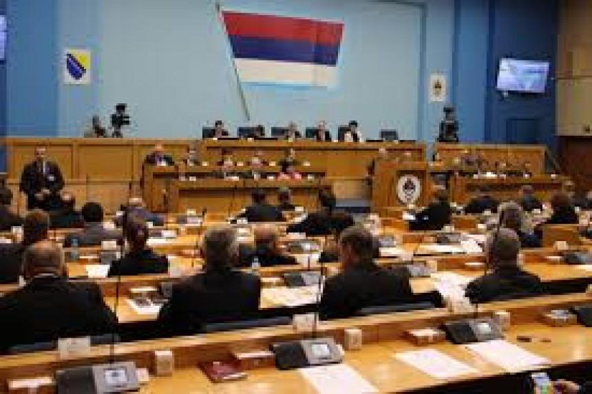 Počela sjednica u Parlamentu Republike Srpske