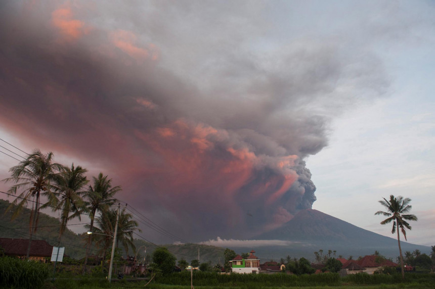 Bali: Crveni alarm zbog opasnosti